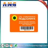 Cmyk Drucken-Barcode Belüftung-Plastik kardiert Standardgröße Cr80 für Loyalität-Karte