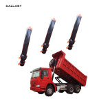 ダンプカーの貨物自動車または貨物自動車の望遠鏡のフロント・エンドFe油圧ポンプ水圧シリンダ