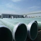 Tubulação de FRP/tubulações subterrâneas reforçadas fibra de vidro de FRP GRP Gre