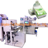 Proceso de plegado de papel de bolsillo de los tejidos Máquina de embalaje