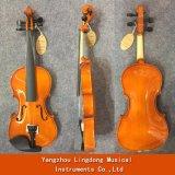Le tilleul le violon avec un ensemble complet de chaînes, de taille 1/10-4/4
