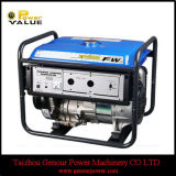 2kw 100%년 Copper Wire 5.5HP 168f Gasoline Generator