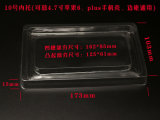 Aceite Custom PVC Black Blister Plastic Electron Tray na China