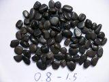 Zwarte Rots 80120mm van de Kiezelsteen van het Strand van de Kiezelsteen van de Steen van de Tuin