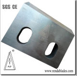 D2 ld SKD11 supérieur écraser pivoter la lame du couteau fixe /couteaux de déchiqueteuse plastique Machine Zerma