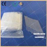Température élevée et résistance à la corrosion de la morue de l'Azote Phosphore total du tube de verre de quartz transparent