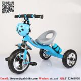 Три колеса детей в инвалидных колясках с выталкивателем заднюю ручку профессиональной подготовки