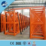 Elevador profesional Sc200/200, Ce/ISO del alzamiento de la construcción de la fabricación de China certificado