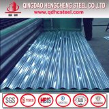 Feuille ondulée de toiture de zinc galvanisée par profil en métal Z100