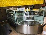 Gâteau réfrigérateur d'affichage