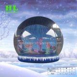 屋外および屋内作業のためにカスタマイズされた素晴らしい雪の球の膨脹可能な記念品のテントを熱販売すること