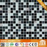 Interior vidrio cristalino del mosaico y mármol del mosaico (M815041)