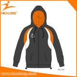 Progettista normale tagliato & cucito Hoodie di vendita di Healong di usura superiore della squadra