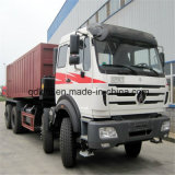 380HP 북쪽 벤츠 Beiben 8X4 12 바퀴 덤프 트럭 25m3