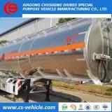 de aluminio 45000L de la aleación de petróleo de gasolina del depósito acoplado semi