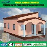 Neues anerkanntes langes lebendes vorfabriziertes Haus Technologie-Afrika-Agrement