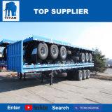 반 대륙간 탄도탄 3 차축 40FT 플래트홈 콘테이너 세미트레일러 평상형 트레일러 트레일러
