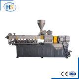Máquina gêmea da extrusora de parafuso de Masterbatch Co-Roating do enchimento do CaCO3 de PP/PE+
