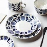 Dienblad van de Kom van het Vaatwerk van China van het Been van het Glas van de Plaat van de schotel het Ceramische
