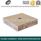 Ligne de production de panneaux en nid d'abeille en papier