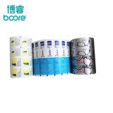 Lámina de papel recubierto de aluminio para envases farmacéuticos