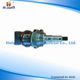 차 부속품은 미츠비시 4D35 MD013680 4D32/4D68/4D95/4D130를 위한 강철 크랭크축을 위조했다