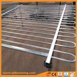 アルミニウムループ上の管状の金属の鋼鉄に囲うこと