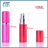 旅行Spray&Emptyの化粧品の容器が付いているアルミニウム詰め替え式の香水瓶のための5ml 10mlの小型ポータブル