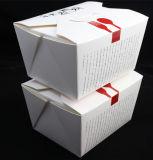 環境に優しい中国のヌードルのテイクアウトの紙箱