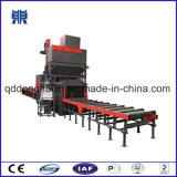 Trasportatore a rulli attraverso tipo macchina di granigliatura