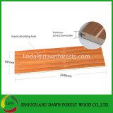 panneau insonorisant acoustique en bois de mur de forces de défense principale de 12mm 15mm