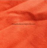 240G / M2; Poliéster algodón único polo de hombre Tela