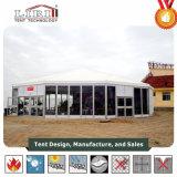 [مولتي-سدس] مستديرة فسطاط خيمة مع مسيكة سقف وزجاج حائط جانبيّ