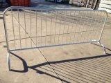 Barriera d'acciaio galvanizzata di traffico di controllo di folla