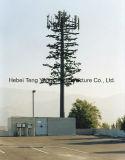 Башня телекоммуникаций вала сосенки камуфлирования микроволны Monopole