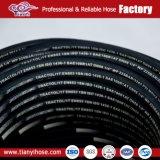 Hochdruck 1/2 und 3/4 R1at Draht-umsponnener hydraulischer Schlauch