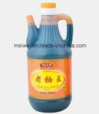 850ml de salsa de soja oscuro con alta calidad