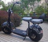 Novo 2 Seat Haley 1000W Scooter City Coco com absorvedor de choque traseiro