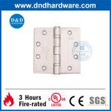 bisagra de puerta mencionada de la UL 4.5X4.5X3.0 para la puerta clasificada del fuego (DDSS001-FR 45453)