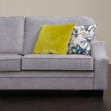 Сочетание серого цвета ткани диван для дома Мебель