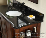 Совершенно верхняя часть тщеты ванной комнаты плитки камня Countertop раковины гранита верхней части тщеты