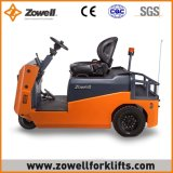Cer-heißer Verkauf neues Zowell 6 Tonne Sitzen-auf Typen elektrischer Schleppen-Traktor
