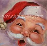 아기 마스크 크리스마스 훈장을%s 귀여운 산타클로스 유화