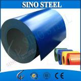 El color de Ral 5016 prepintó la hoja de acero galvanizada en bobinas