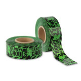 고품질 녹색 PE 주의 테이프