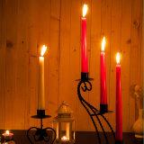 Fertigkeit-Dekoration-Pfosten-Kerze mit langer Beleuchtung-Zeit