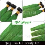Lilibeauty 도매 브라질 Remy 사람의 모발 2 음색 직모 뭉치