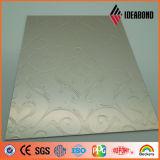 1220*2440mm Stern-silbernes lochendes Aluminium-perforiertes Panel (ID-018)