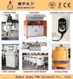 3-Axis 2m * 1.5m 420MPa Schurende Waterjet Snijder met ISO, Ce, SGS
