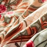120のGSM柔らかいMicrofiberの寝具の羽毛布団カバーセット